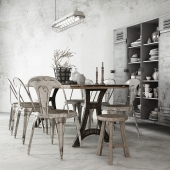 TABLE&CHAIRS SET