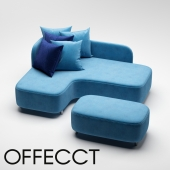 Corner sofa by Offect
