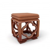 Chinese style blossom stool