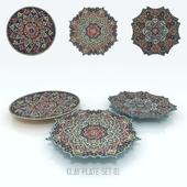 Decoration Clay Plates