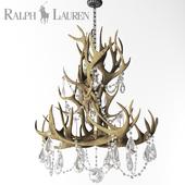 Visual Comfort Ralph Lauren Straton Single Tier Chandelier