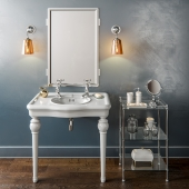 Drummonds - The Single China Windermere Vanity Basin