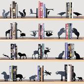 книгодержатели с книгами часть 2