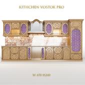 Kitchen set in ethno style