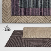 Asiatic Jazz & Mica Rugs