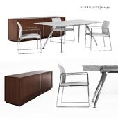 Bernhardt Design office furniture set