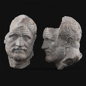 Bearded man Sculpture