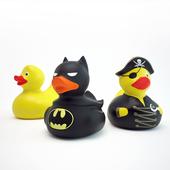 Set of rubber ducks for the bathroom