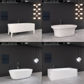 Bath collection Antonio Lupi (4 Bath)