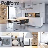 Кухня Poliform Varenna Kyton (vray GGX, corona PBR)