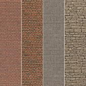 Bricks Set Material