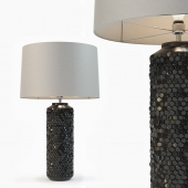 Heathfield & Co Mazu Graphite Lamp