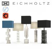 A set of table lamps Eichholtz