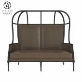 Stellar Works  Laval Crown Chair with Opened Roof