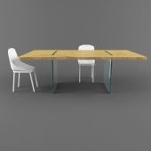 TonelliDesign table with a chair