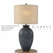 Cyanic Table Lamp - Currey & Company