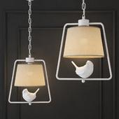 SUSPENSION LAMP PROVENCE BIRD PENDANT GEOMETRI