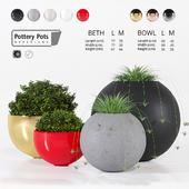 Potterypots four