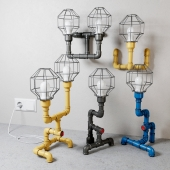 Fixtures in the style of Steampunk