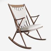 Frank Reenskaug Bramin Rocking Chair.