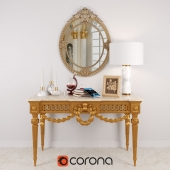 Louis XVI Console in Giltwood for recertification
