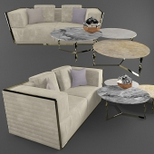 Triple sofa empire rugiano