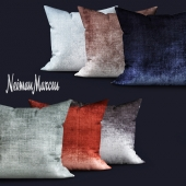 Eastern Accents Venice Charcoal Knife-Edge Pillow