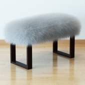 Mognolian lamb bench wood legs