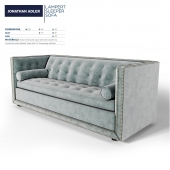 Jonathan Adler Lampert Sleeper Sofa