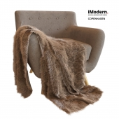 Copenhagen armchair and plaid