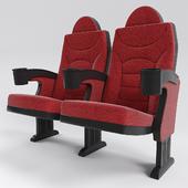 Armchair for cinemas