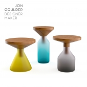 Table set Congruent side tables