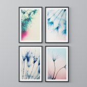 Botanical theme paintings 5