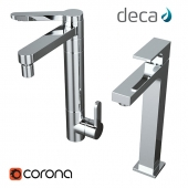 Faucet Deca Twin + Faucet Deca Unic