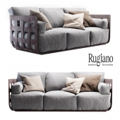 Rugiano Braid sofa