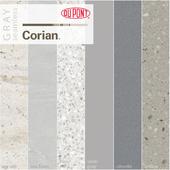 Dupont Corian Kitchen Countertops Gray 2