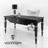 Visionnaire Desk & Armchair
