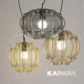 Pendant lamp Karman GINGER