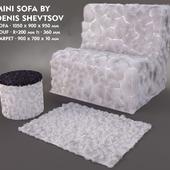 Mini Sofa (Hair and Fur)