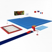 Gymnastics equipment for gymnastics