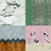 Wall&deco - Contemporary Wallpaper Pack 3