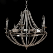 CHROME BOWN CHANDELIER