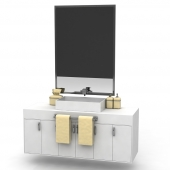 Bedside cabinet with sink