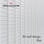 Tile Atlas Concorde 3D WALL DESIGN Mesh