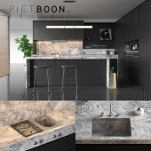 Kitchen Piet Boon BRUTAL (vray GGX, corona PBR)