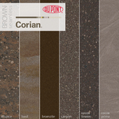 Dupont Corian Kitchen Countertops Brown 2