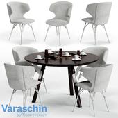Varaschin KLOE Chair and LINK Table