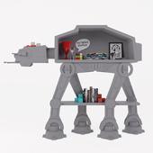 Star Wars AT-AT Bookcase Pottery barn