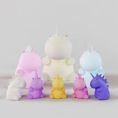 Smoko Unicorn lamp