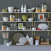 Kitchen decor set
